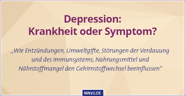 Depression: Krankheit oder Symptom