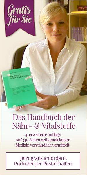 Handbuch der Nähr- und Vitalstoffe gratis anfordern