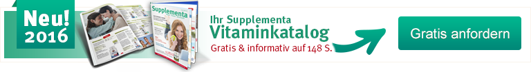 Werbebanner Supplementa Katalog