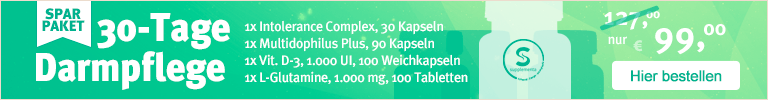 30-Tage Darmpflege Darmentgiftung