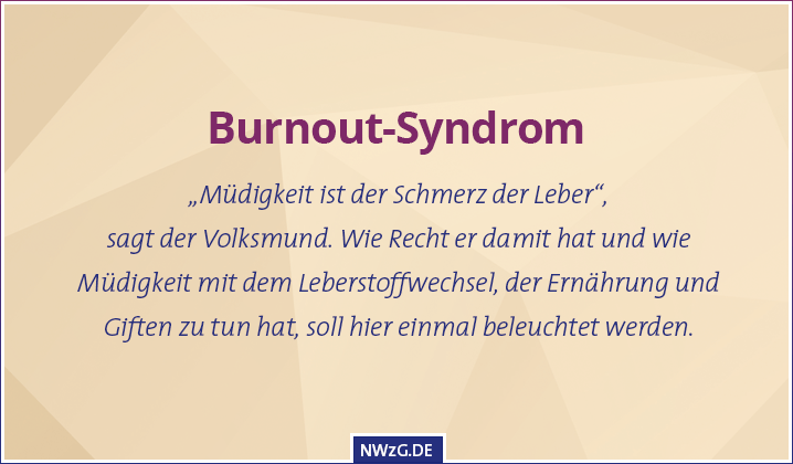 Burnout-Syndrom