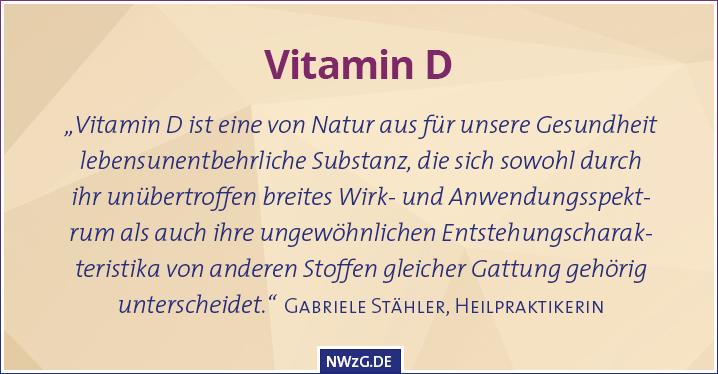 Vitamin D Sonnenvitamin
