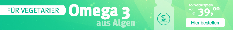 Aus Algen - Veganes Omega 3