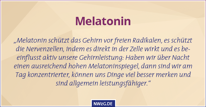 Melatonin - Prävention von Neurodegeneration